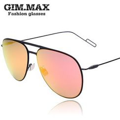 GIMMAX Glasses - Double Bridge Aviator Sunglasses