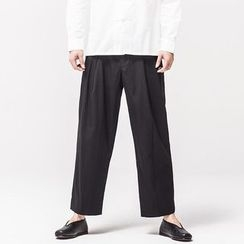 Ashen - Straight-Fit Pants
