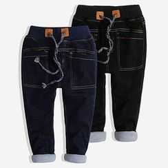 Happy Go Lucky - Kids Drawstring Jeans