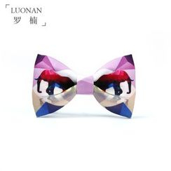 Luonan - Elephant Print Bow Tie