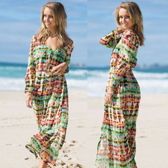 Morning Dew - Chiffon Beach Cover-Up