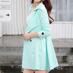 Romantica - Double-Buttoned Trench Coat