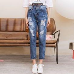 Ivena - Washed Jeans