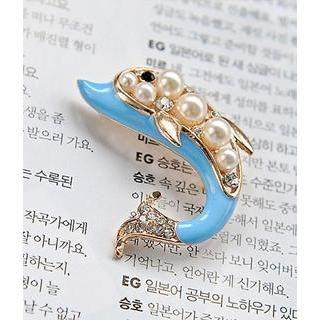 Petit et Belle - Dolphin Brooch