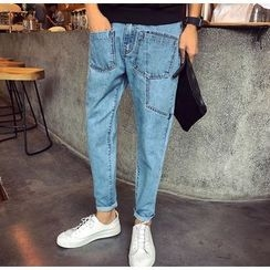 Bestrooy - Pocketed Jeans