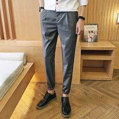 Mitouomo - 純色修身褲