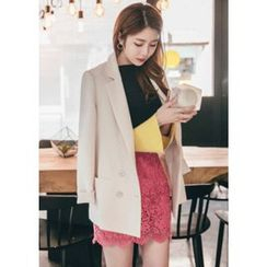Chlo.D.Manon - Notched-Lapel Double-Breasted Blazer
