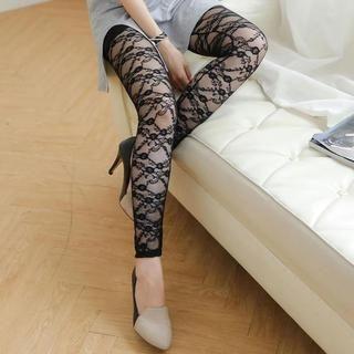 Tokyo Fashion - Lace Sheer Leggings