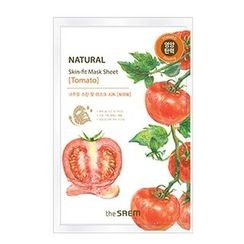 The Saem - Natural Skin Fit Mask Sheet (Tomato) 1pc