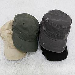 NANING9 - 棉質做舊軍帽
