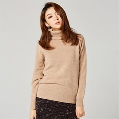 MAGJAY - Wool Blend Turtle-Neck Top
