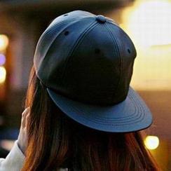 Hats 'n' Tales - Faux Leather Cap