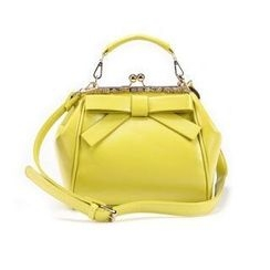 O.SA - Kiss-Lock Bow-Accent Satchel