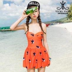 Vicki Vicki - 印花泳衣连衣裙