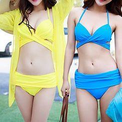 Roseate - Set: Wrap Bikini + Cover-Up