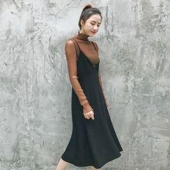 GAGAI - Glitter Maxi Dress