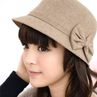 Bow Accent Cloche Hat