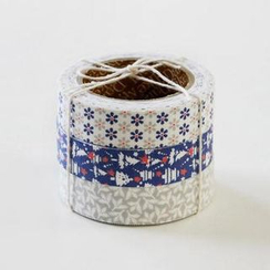LIFE STORY - 'Daily Like' Series Decorative Tape Set (3 pcs) - SNOW BELL
