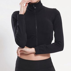 Fayton - Cropped Sports Zip Jacket