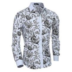 Hansel - 印花衬衫
