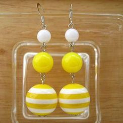 Fit-to-Kill - Yellow sailing Earrings