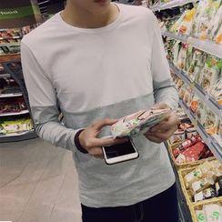 RIVOLO - 雙色長袖T恤