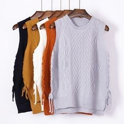 City of Dawn - Cable-Knit Vest