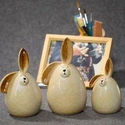 Retro Times - Rabbit Desk Ornament Set