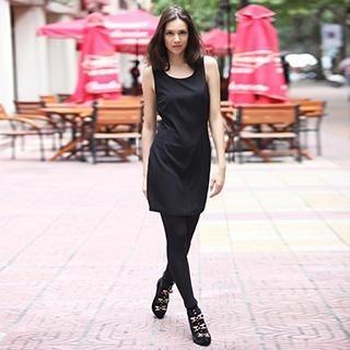 YiGelila - Bow-Back Tank Dress