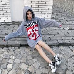 Dream Girl - Printed Long Hoodie