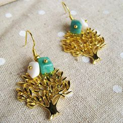 MyLittleThing - Sweet Little Gold Trees Earrings