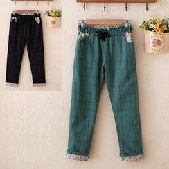 Waypoints - Window Pane Drawstring Pants