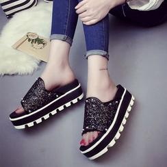 Wello - Platform Slide Sandals