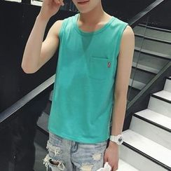 Jimboy - Sleeveless Pocket T-Shirt