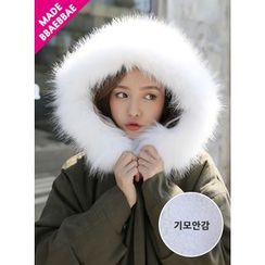 BBAEBBAE - Faux-Fur Hooded Coat