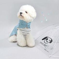 LIFE STORY - Pet Dog Patterned Rain Coat