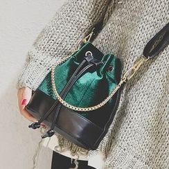Youme - Velvet Bucket Bag