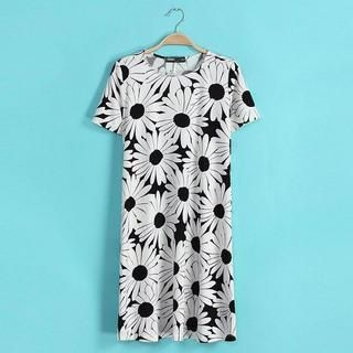 LULUS - Floral Shift Dress