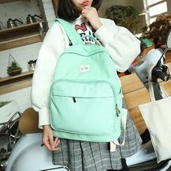 Pandabada - Plain Canvas Backpack