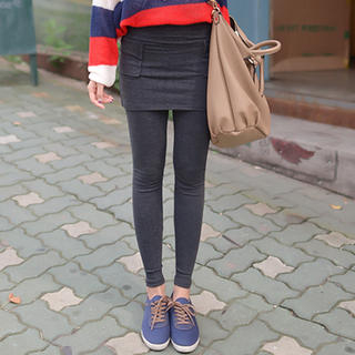 CLICK - Inset Skirt Leggings