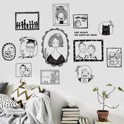 乐宅 - 卡通墙贴