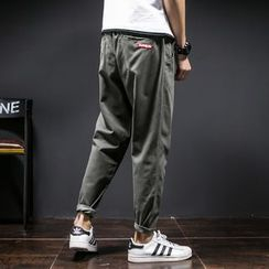 Besto - Drawstring Baggy Pants