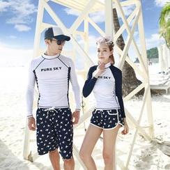 Tamtam Beach - Printed Couple Swimsuit