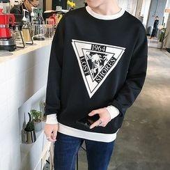 Besto - Printed Sweatshirt