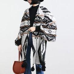 HORG - Patterned Woolen Jacket