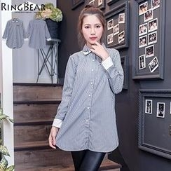 RingBear - Long Sleeve Striped Shirt
