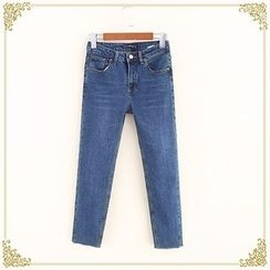 Fairyland - Plain Fray Jeans