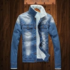 Wild Dragon - Washed Denim Jacket