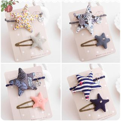 Chapa - Kids Set: Star Hair Tie + Hair Clip