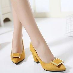Monde - 粗跟高跟鞋
